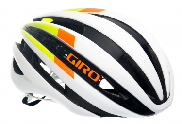 casque giro synthe blanc vert orange s 51 55 cm