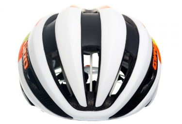 Casque GIRO SYNTHE blanc vert orange