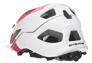Casque 661 SIXSIXONE EVO AM 2017 Blanc Rouge