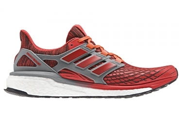 Adidas running energy boost rouge gris 40 2 3
