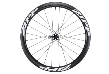 Roue avant zipp 303 firecrest tubeless disc 9 12 15x100mm stickers blanc