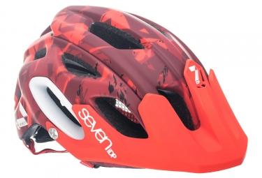 casque seven m2 rouge camo xs s 52 55 cm