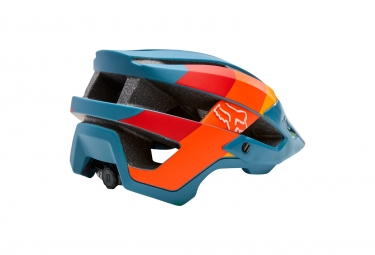 Casco Fox Flux Drafter Bleu