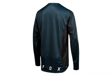 Fox Demo Camo Burn Langarm Jersey schwarz