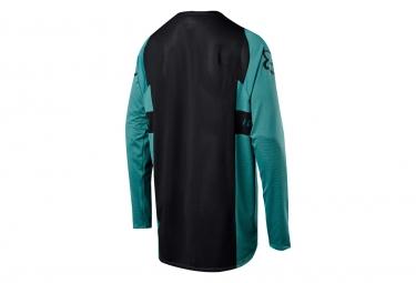 Fox Flexair Long Sleeves Jersey Grün Schwarz
