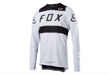 Fox Flexair Long Sleeves Jersey Blanco Negro
