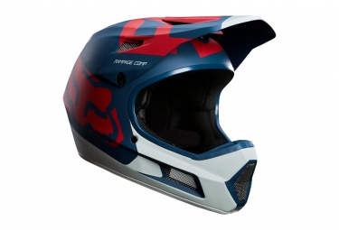 Casque Intégral Fox Rampage Comp Bleu Rouge