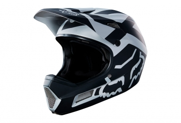 casque integral fox rampage comp noir chrome m 57 58 cm