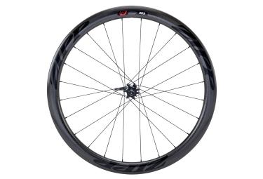 roue avant zipp 303 firecrest boyau disc 9 12 15x100mm stickers noir