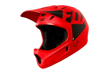 casque integral fox rampage landi rouge m 57 59 cm