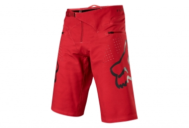 Short fox flexair rouge noir 32