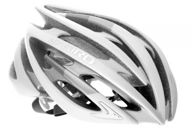 Casque giro aeon blanc argent m 55 58 cm