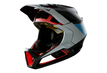 casque integral fox proframe mips drafter noir rouge xl 61 64 cm