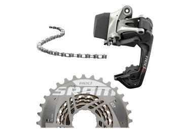 Sram Red E-Tap Wifli Mini Groupset (Rear Derailleur / Cassette / Chain)