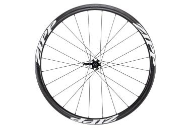 roue avant zipp 202 firecrest boyau disc 9 12 15x100mm stickers blanc