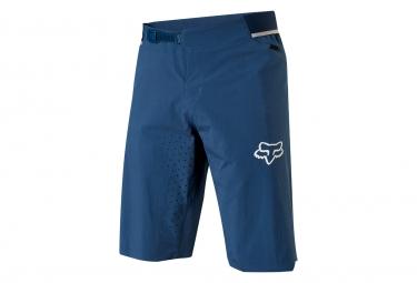 Short avec peau fox attack bleu 34