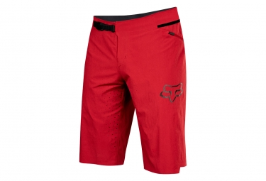 short avec peau fox attack rouge 32