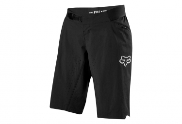 Pantalones cortos Fox Attack Woman con forro negro