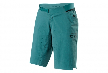 Pantalones cortos Fox Attack Woman con Liner Green