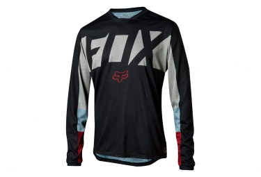 Fox Indicator Drafter Long Sleeves Jersey Black