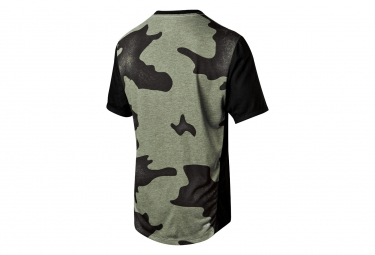 Fox Indicator Camo Short Sleeves Jersey Black