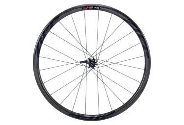 roue avant zipp 202 firecrest pneu disc 9 12 15x100mm stickers noir