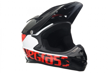 casque integral bluegrass intox noir rouge m 56 58 cm