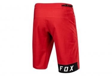 Short avec Peau Fox Indicator Rouge