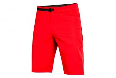 Short avec peau fox ranger cargo rouge 34
