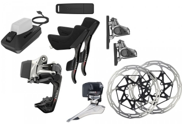 Sram Red eTAP HRD Groupset Flat Mount (Electric Component)