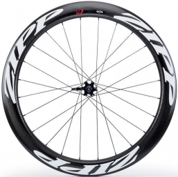 Roue avant zipp 404 v2 boyau disc 9 12 15x100mm stickers blanc
