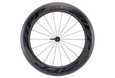 roue avant zipp 808 firecrest boyau 9x100mm stickers noir