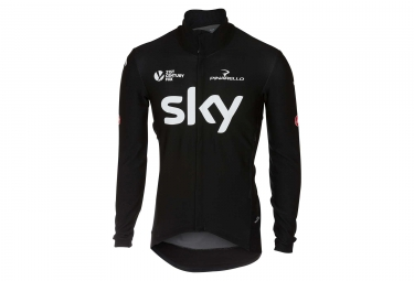 Castelli Perfetto Team Sky Long Sleeves Jersey Black