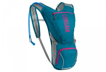Camelbak Aurora Woman Hydration Backpack 2.5 L Teal Blue Pink