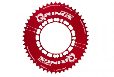 plateau rotor q ring ea aero 110mm rouge 52