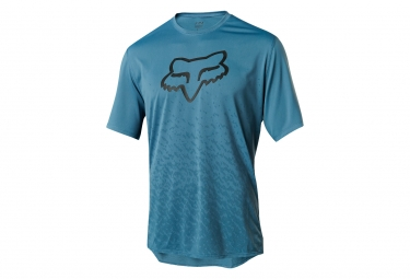 Fox Ranger CTNR mangas cortas Jersey azul