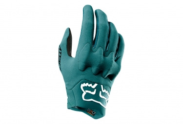 Gants Longs Fox Attack D3O Vert