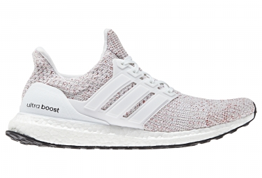 Adidas running ultra boost blanc rouge 46