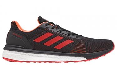 Adidas running response st noir rouge 45 1 3