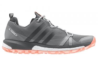 Adidas running terrex agravic femme gris rose 37 1 3