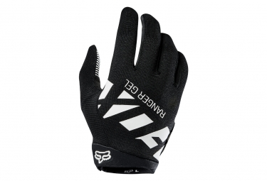 Gants longs fox ranger gel noir blanc xl