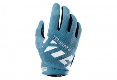 gants longs fox ranger gel bleu m
