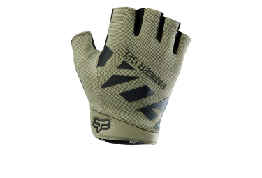 gants courts fox ranger gel kaki m