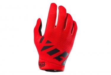 Fox Ranger Long Gloves Red