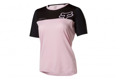Fox Attack Pro Woman Short Sleeves Jersey Pink Black