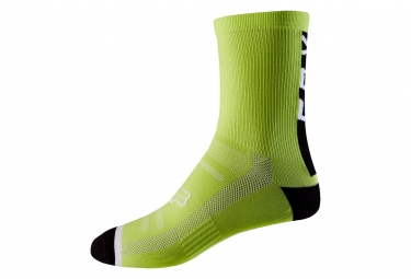 Fox 8'' Trail Pair of Socks Yellow