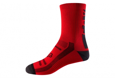 Fox 8'' Trail Pair of Socks Red