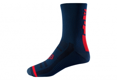 Fox 8'' Trail Pair of Socks Blue