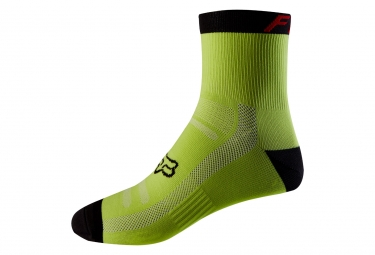 Fox 6'' Trail Pair of Socks Yellow