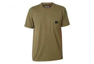 T shirt technique manches courtes fox redplate 360 vert s